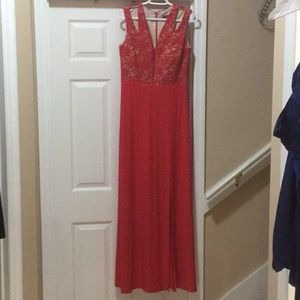 Morgan and Co Red Dress